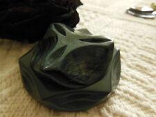 gran botón antiguo en galalith perfecto estado volume magnífico 5,4 cm gris 2263