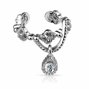 BodyJ4You Ear Cuff Women Earrings Cartilage Helix earrings Non Piercing Jewelry