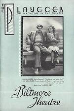 """Clifford Odets """"GOLDEN BOY"""" Francis Lederer 1938 Los Angeles Biltmore Playbill"""
