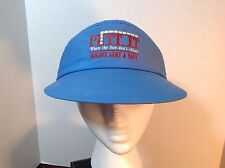 "Vintage Mohawk Army & Navy ""Putt It"" Casual Visor Hat Men's One Size Fits All"