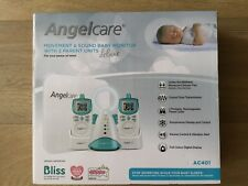 Angelcare AC401 Deluxe Movement & Sound Baby Monitor with 2 Parent Units