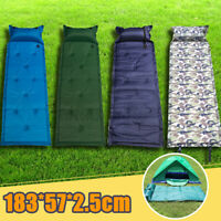 Inflatable Air Mattress Outdoor Tent Mat for Camping Hiking Travel Sleeping Pad