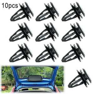 10x For MG ZS MG3 Rear Boot Load Cover Parcel Shelf String Cord Clips Retainer