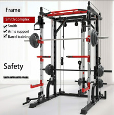 Adjustable Heavy Squat Rack Standard Solid Steel Squat Fitness Home Gym OFFER
