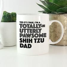 More details for shih tzu dad mug: funny gift for shih tzu owners & lovers! shih tzu gifts