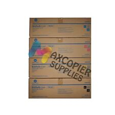 Konica Minolta TN313 Toner Cartridge CMYK (Genuine) For C30