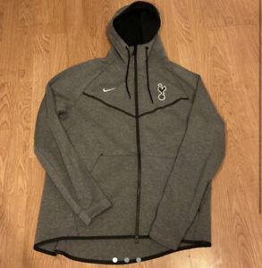 Tottenham Nike Tech Grey Tracksuit Jacket