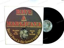 David Peel & The Lower East Side - Have A Marijuana GER LP /3