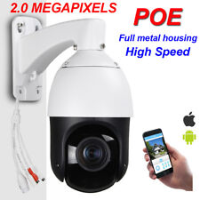 Security CCTV High Speed POE 1080P IP PTZ Camera 2MP ONVIF 20X ZOOM W/ Audio P2P