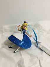 Disney Alice In Wonderland Glitter Ornament New