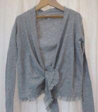 NWT DKNY Kids GIRLS Long Sleeve Wrap Around Sweater Gray  Size S!!!!