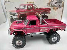 Un beau monstre! Ford F250 grosses roues au 1:18 longueur 32cm, métal 1,700kg