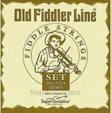 New Old Fiddler Line  Violin String Set 4/4 / Steel E