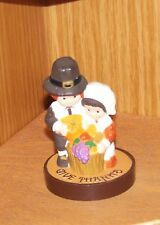 Hallmark Merry Miniature 1976 Pilgrims Thanksgiving