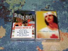 ALTERNATIVE/CHRISTIAN ROCK 2 Cassettes SEALED Dakoda Motor DIME STORE PROPHETS