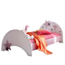 Kinderbett Sternchen bett Kinderzimmer Einzelbett Bettgestell Jugendbett lila