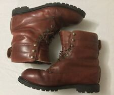 Cabela's Leather Insulated Lace Up Hunting Camping Hiking Boots Mens Size 12
