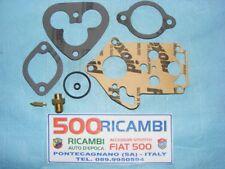 FIAT 500 D/F/L/R KIT SERIE REVISIONE GUARNIZIONI CARBURATORE DELL'ORTO FRG 28