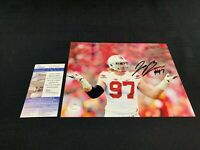 JOEY BOSA OHIO STATE BUCKEYES SIGNED 8X10 PHOTO W/JSA COA SD17616 CHARGERS