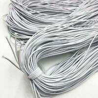 Top Quality 2mm Round Elastic Band Cord Sewing Crafts DIY Material 20Yard Length