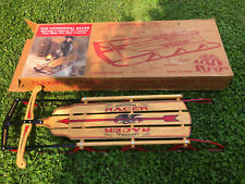 Flexible Racer Flyer Centennial Limited Edition F854 Sled 1889-1992 VINTAGE NEW!