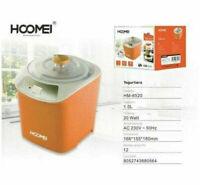 Yogurtiera Elettrica HOOMEI Macchina Per Yogurt Maker Frutta Potenza 20 W 1 LT