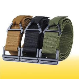 Adjustable Nylon Waistband Combat Rescue Combat Rigger Military Tactical Belt