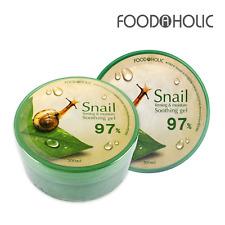 FOOD A HOLIC Snail Soothing Gel 97% 300ml Moisture Korea Cosmetics