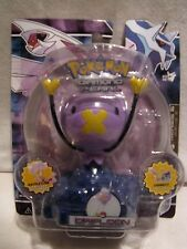 Pokemon Figure Drifloon w/ Battle Link Diamond & Pearl JAKKS 2008 *RARE* MOC