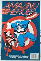AMAZING HEROES #146 🔑 USAGENT 1st preview appearance CAPTAIN AMERICA Avengers