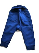 Steiff Winter Days Sweat Pants, Blue Size 80