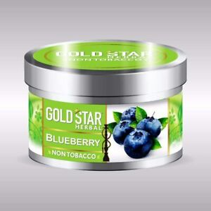 Blueberry Gold star Herbal Non Tabacco