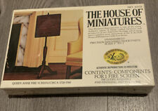 House of Miniatures Dollhouse Queen Anne Fire Screen Stand Furniture Kit 40021