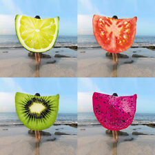 150cm Gigantic Watermelon Round Beach Towel Throw Yoga Mat Pool Home Blanket New