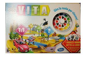 IL GIOCO DELLA VITA gioco società 04000103 Hasbro COME IN FOTO -USATO-Italia