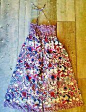 Liberty London for Target Sun Dress Smocked Blue Floral Medium
