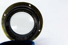 "Som Berthiot No.5 Series 1  200 mm f4.5  ""no brass"" lens"