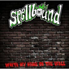 "SPELLBOUND Write My Name On The Wall 7"" coloured vinyl EP psychobilly rockabilly"