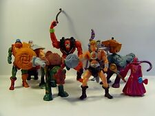 McDONALDS MASTERS OF THE UNIVERSE 8 TOY COMPLETE SET HE-MAN SKELETOR MIP