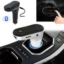 Bluetooth LCD Wireless Car MP3 FM Transmitter Radio USB Charger Handsfree Kit UK