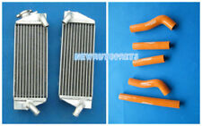 Orange Aluminum Radiator +Hose For KTM 250SXF KTM 250SX-F 250 SXF SX-F 2005-2006