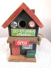 Decorative Wooden Old Attorneys Tavern Birdhouse