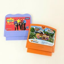 V Tech V Smile Cartridges Little Einsteins & The Wiggles Learning Content