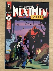 Next Men Faith # 21 - First Hellboy In Color!