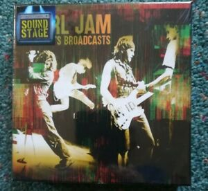 Pearl Jam. Early 90's Broadcasts (6-CD Box Set) SEALED NEW