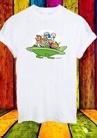 The Jetsons George Judy Rosie Robot Astro Elroy Men Women Unisex T-shirt 709
