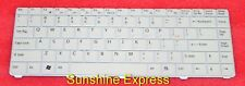 New OEM Sony White Keyboard 147996323 1-479-963-23 for SONY VAIO VGN-C71B Laptop