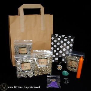 Witchy Mystery Bag natural vegan organic magic pagan wicca ritual spell