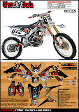 2009-2012 HONDA CRF 450 TDL! Motocross Graphics Dirt Bike Graphics Decal Deco