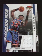 2010-11 Panini Threads All-Time Big Men Materials #6 Patrick Ewing - 215/399